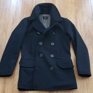 J. Crew Dockside Peacoat, Made with Thinsulate
